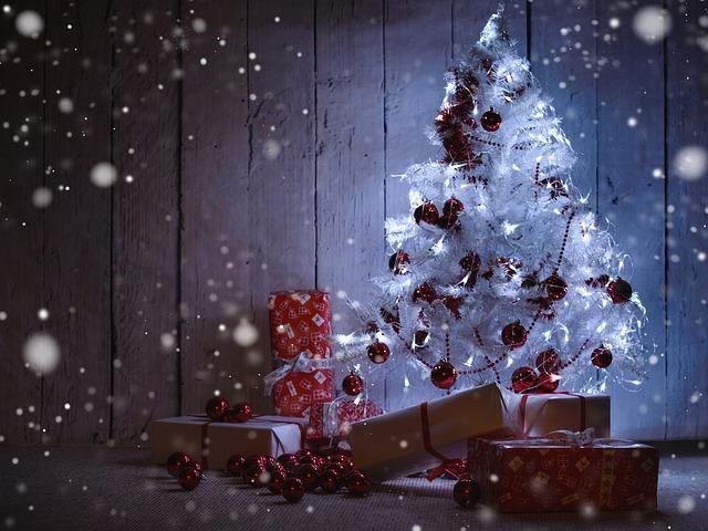Advent Fir Christmas Tree Gifts co-op Christmas