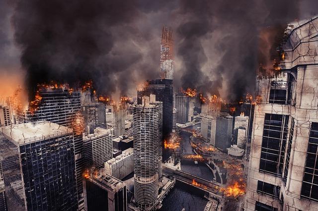 Apocalypse War Destruction Damage armageddon