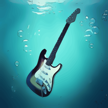Drowning In Metal Music Guitar, soundpool