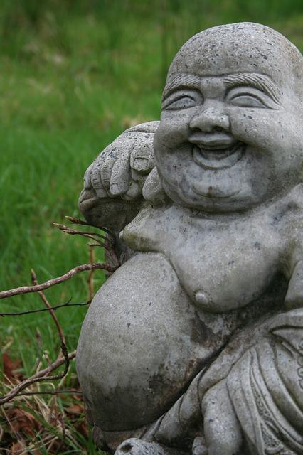 Garden Status Laughing