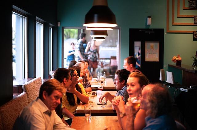 Restaurant People Eating