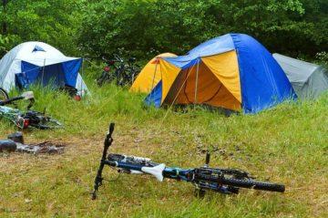 Bike Camping Rain Tent Camp