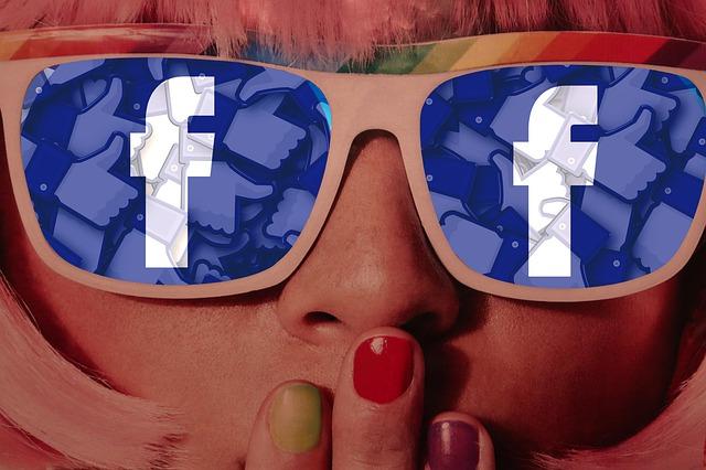 Girl Glasses Facebook Sunglasses