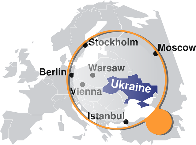 Ukraine Map Location Country