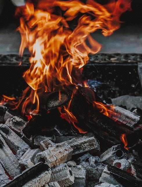 Fire Coal Fireplace Charcoal